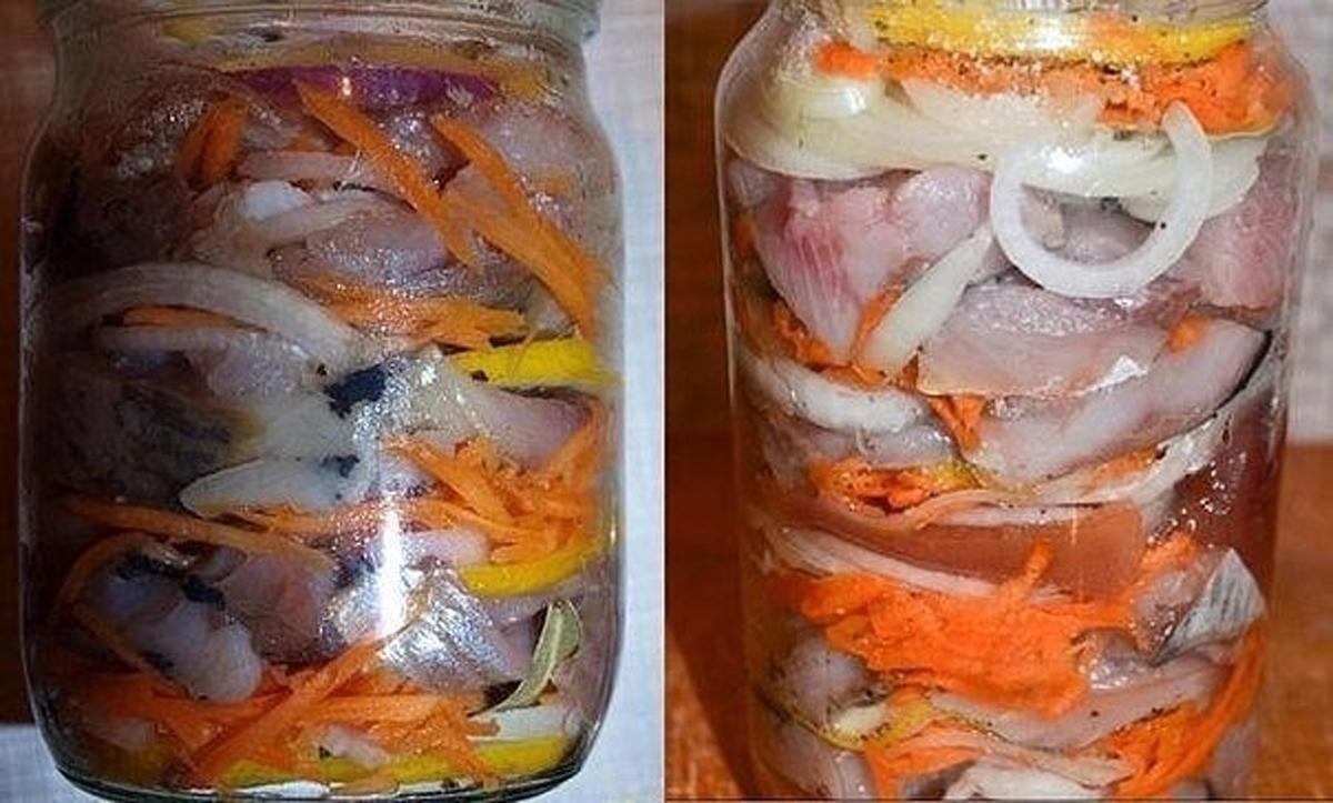 Hering marinat – dispare imediat de pe masă! Cea mai simplă rețetă pentru cel mai delicios pește!