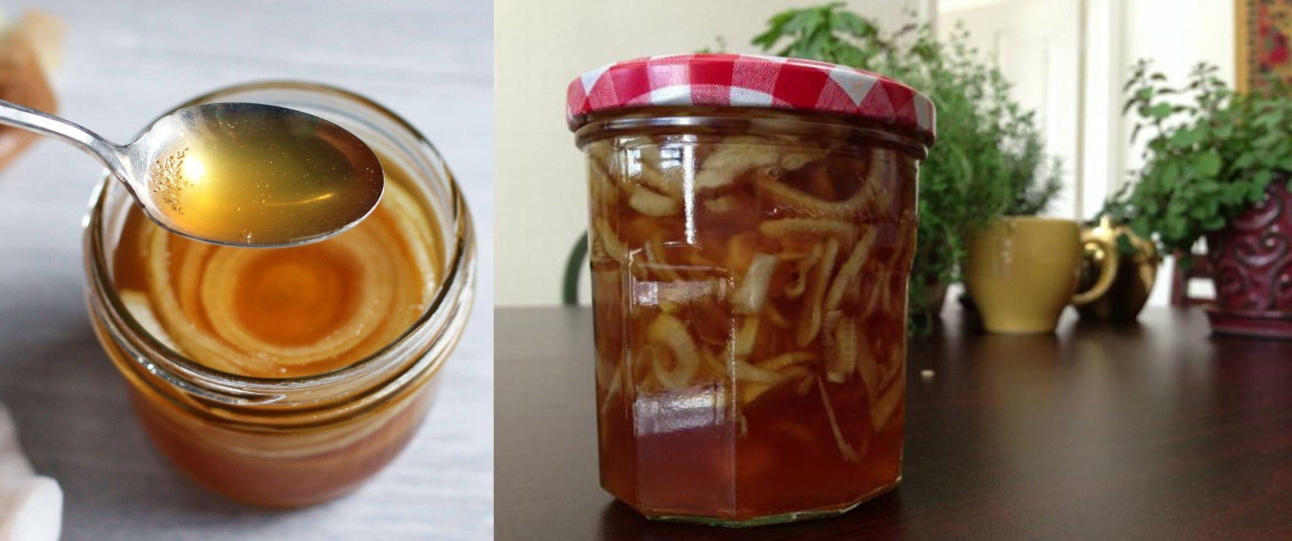 Sirop de ceapă, usturoi și miere de albine – întărește imunitatea și combate gripa și răceală