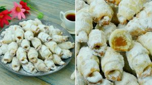 Cornulete cu bors: Fragede si aromate
