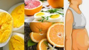 Dieta cu ouă si portocale depășește toașteptările