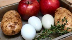 Dieta cu mere si oua – Slabesti in ritm accelerat si intr-un mod foarte sanatos