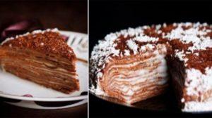 Tort de ciocolată la tigaie – un desert simplu, dar deosebit de delicios!