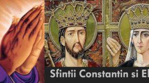 Rugăciunea către sfinții Constantin și Elena pentru purificare sufletească și îndepăratarea problemelor