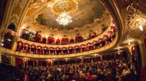 Teatrul National din Iasi, al 2-lea cel mai frumos din lume. Istoricul cladirii vechi de peste 100 de ani