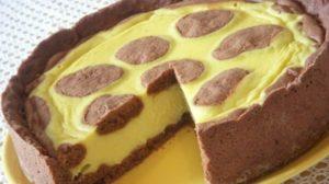 Blat de ciocolată cu umplutură cremoasă de brânză – Prăjitură rafinată, delicată, aspectuoasă, simplă