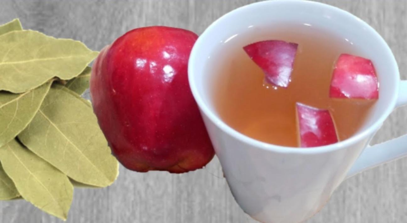 Ceaiul din foi de dafin și mar va scăpa de multe probleme