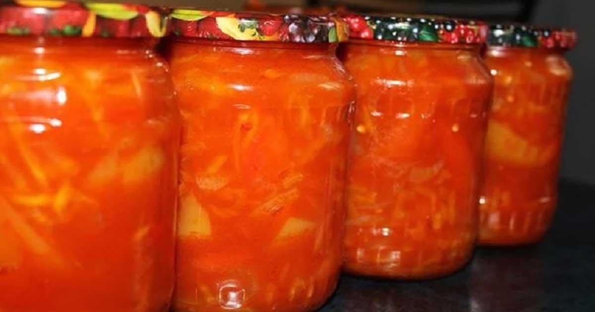 Lecho ideal fără oțet și ulei! Cea mai sănătoasă conservă pentru iarnă