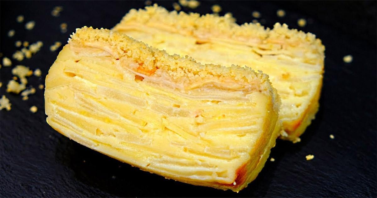 Vedeți aluatul? După coacere acesta se transformă în cremă – O prăjitură superbă cu fructe!