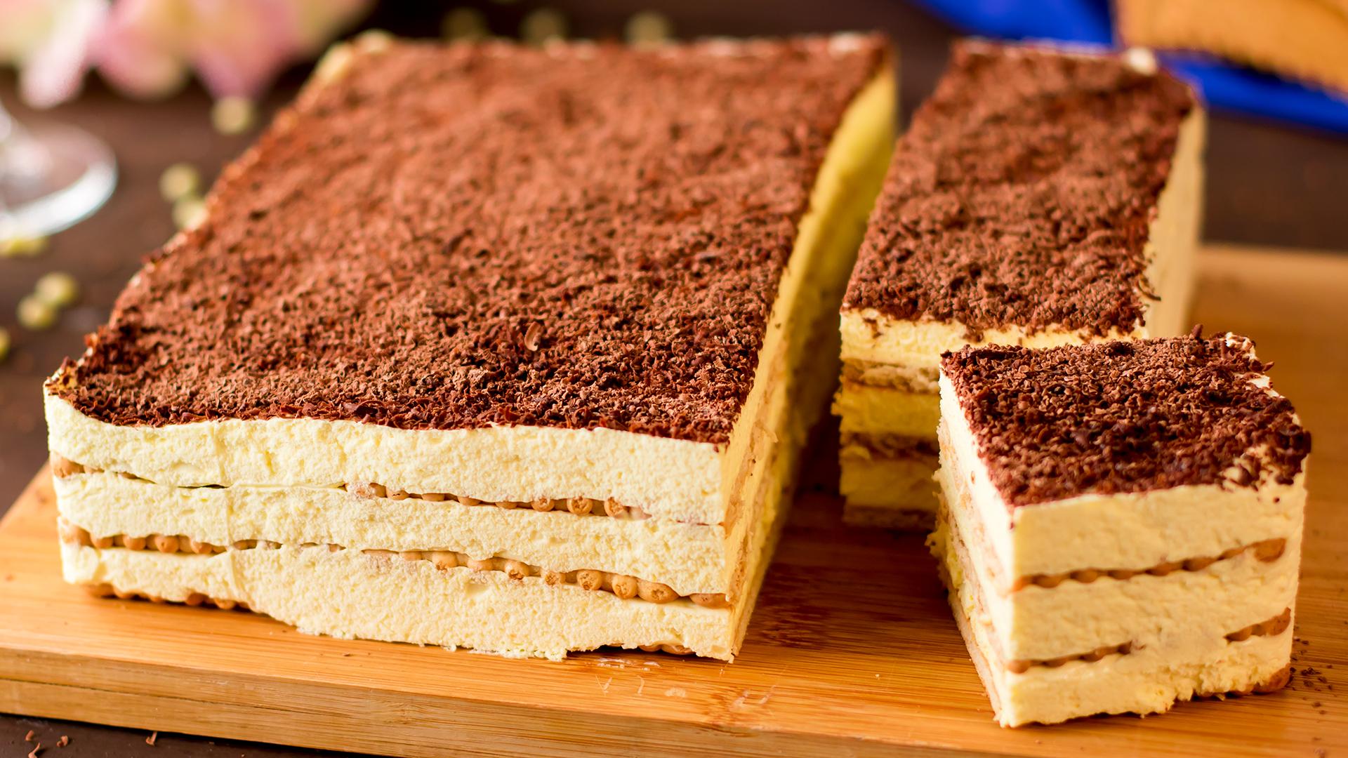 Prăjitură fără coacere, gata în doar 10 minute! Simplă dar foarte gustoasă!